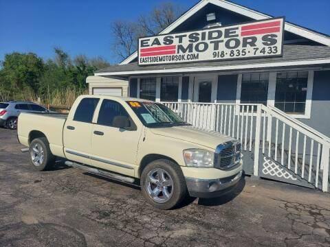 2008 Dodge Ram Pickup 1500 for sale at EASTSIDE MOTORS in Tulsa OK