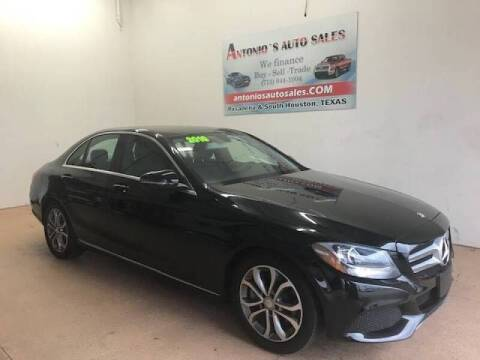 2016 Mercedes-Benz C-Class for sale at Antonio's Auto Sales in South Houston TX