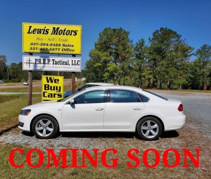 2015 Volkswagen Passat for sale at Lewis Motors LLC in Deridder LA
