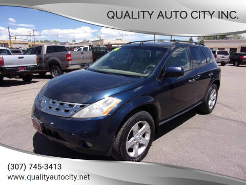 2004 Nissan Murano for sale at Quality Auto City Inc. in Laramie WY