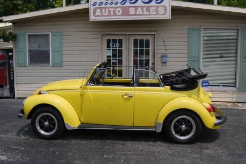 1971 Volkswagen Beetle Convertible for sale at DOE RIVER AUTO SALES in Elizabethton TN