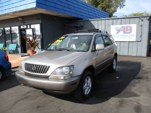 1999 Lexus RX 300 for sale at AUTO BROKERS OF ORLANDO in Orlando FL