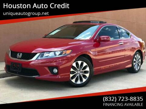 2015 Honda Accord for sale at Houston Auto Credit in Houston TX