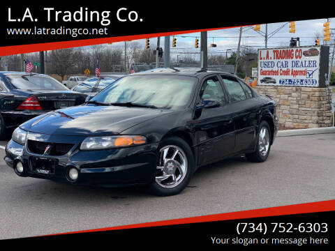 2001 Pontiac Bonneville for sale at L.A. Trading Co. Woodhaven in Woodhaven MI
