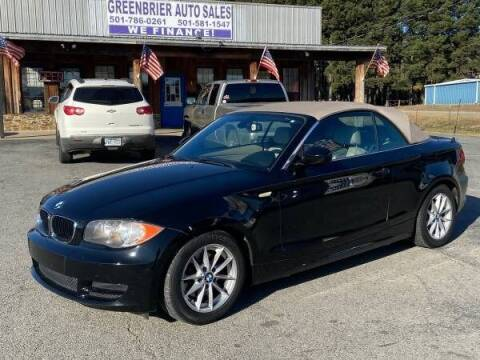 2010 BMW 1 Series for sale at Greenbrier Auto Sales in Greenbrier AR