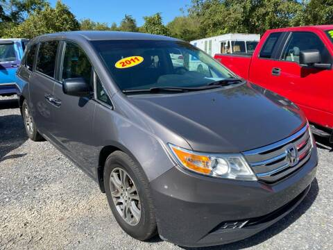 2011 Honda Odyssey for sale at Rocket Center Auto Sales in Mount Carmel TN