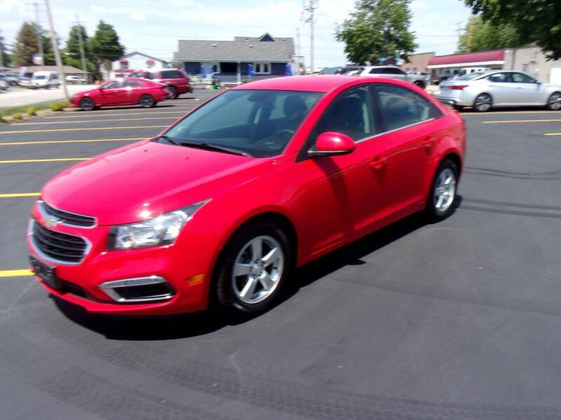 2015 Chevrolet Cruze for sale at Ideal Auto Sales, Inc. in Waukesha WI