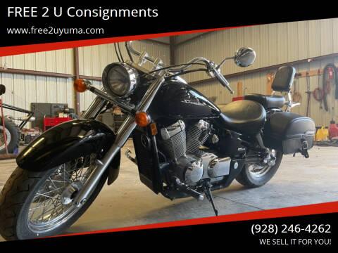 2014 Honda Shadow for sale at FREE 2 U Consignments in Yuma AZ