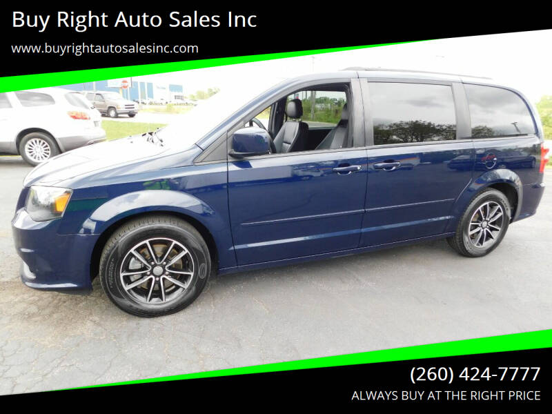 2016 Dodge Grand Caravan for sale at Buy Right Auto Sales Inc in Fort Wayne IN