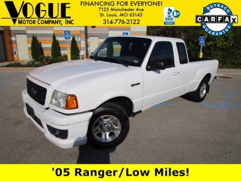 2005 Ford Ranger for sale at Vogue Motor Company Inc in Saint Louis MO