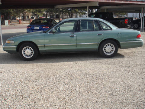 1997 Ford Crown Victoria for sale at Walter Motor Company in Norton KS