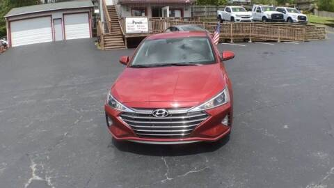 2020 Hyundai Elantra for sale at Cj king of car loans/JJ's Best Auto Sales in Troy MI