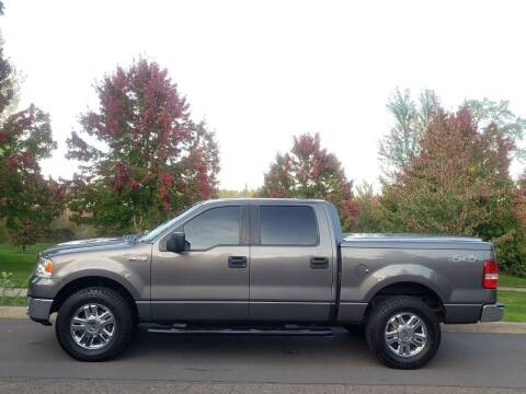 2008 Ford F-150 for sale at CLEAR CHOICE AUTOMOTIVE in Milwaukie OR