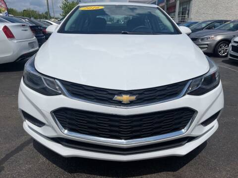 2016 Chevrolet Cruze for sale at Rayyan Auto Mall in Lexington KY