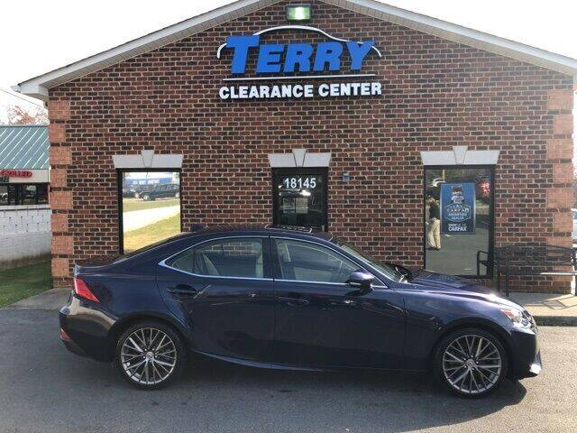 2015 Lexus IS 250 for sale at Terry Clearance Center in Lynchburg VA