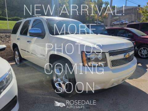 2011 Chevrolet Tahoe for sale at Rosedale Auto Sales Incorporated in Kansas City KS