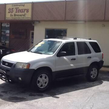 2003 Ford Escape for sale at Easy Credit Auto Sales in Cocoa FL