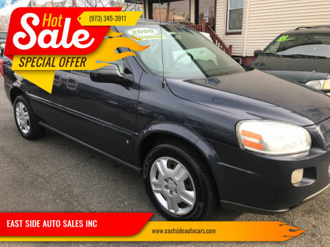 2008 Chevrolet Uplander for sale at EAST SIDE AUTO SALES INC in Paterson NJ
