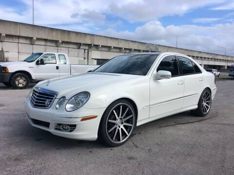 2008 Mercedes-Benz E-Class for sale at Florida Cool Cars in Fort Lauderdale FL