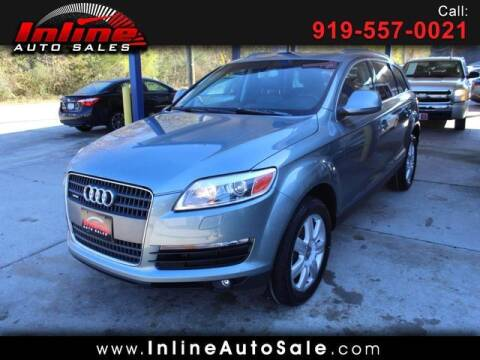 2007 Audi Q7 for sale at Inline Auto Sales in Fuquay Varina NC