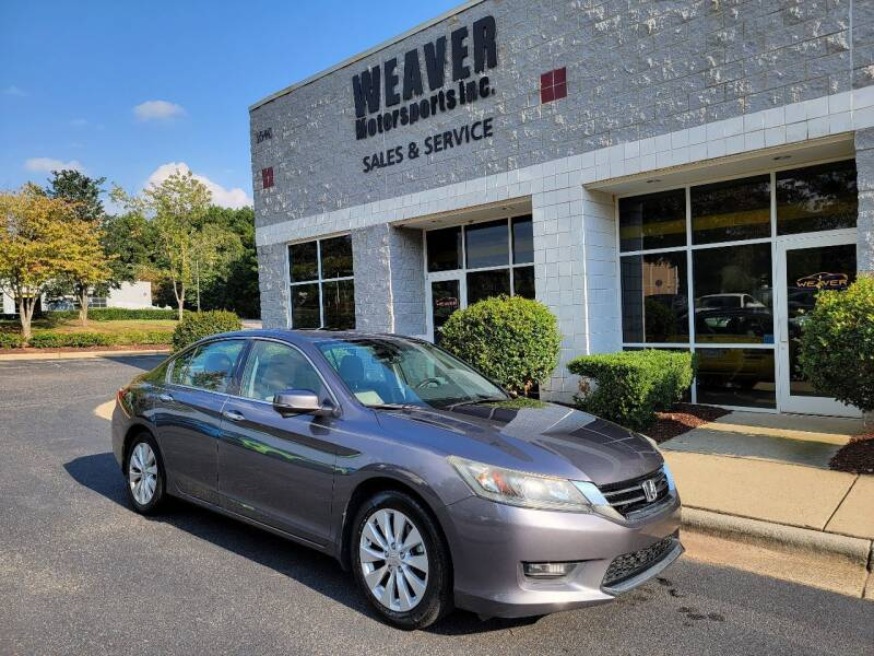 2014 Honda Accord for sale at Weaver Motorsports Inc in Cary NC