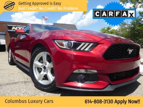 2015 Ford Mustang for sale at Columbus Luxury Cars in Columbus OH