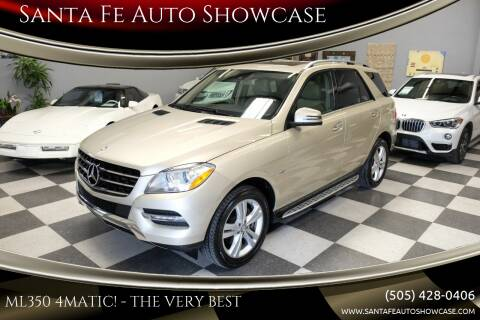 2012 Mercedes-Benz M-Class for sale at Santa Fe Auto Showcase in Santa Fe NM