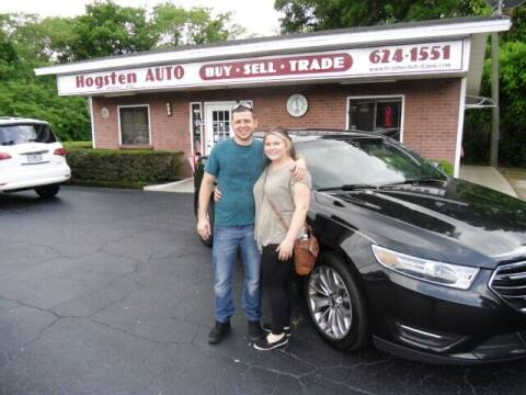 2015 Ford Taurus for sale at HOGSTEN AUTO WHOLESALE in Ocala FL