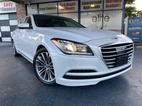 2015 Hyundai Genesis for sale at ELITE AUTO WORLD in Fort Lauderdale FL