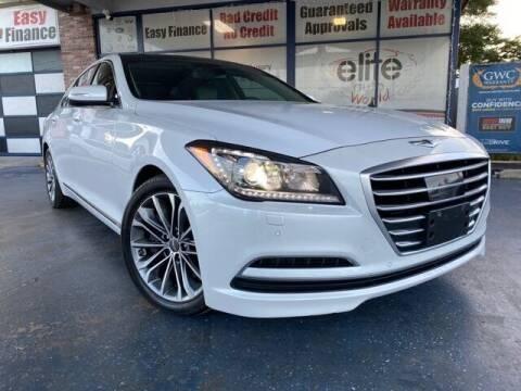 2015 Hyundai Genesis for sale at ELITE AUTO WORLD in Fort Lauderdale FL