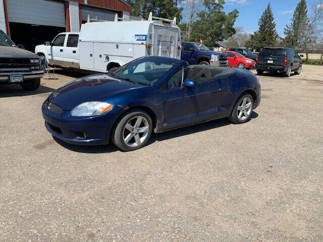 2009 Mitsubishi Eclipse Spyder for sale at Four Boys Motorsports in Wadena MN