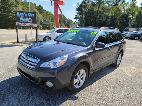 2013 Subaru Outback for sale at Let's Go Auto in Florence SC