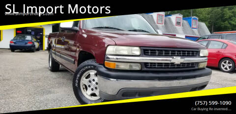 2002 Chevrolet Silverado 1500 for sale at SL Import Motors in Newport News VA