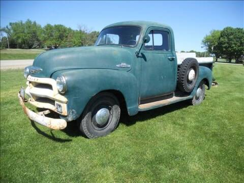 1955 Chevrolet 3100 for sale at OLSON AUTO EXCHANGE LLC in Stoughton WI