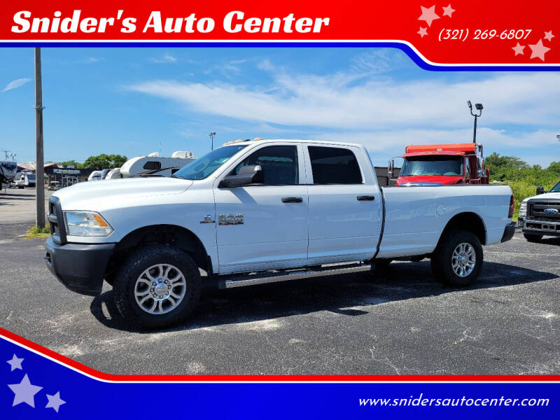 2016 RAM Ram Pickup 2500 for sale at Snider's Auto Center in Titusville FL