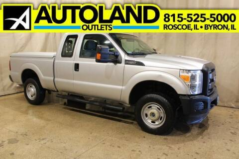 2015 Ford F-250 Super Duty for sale at AutoLand Outlets Inc in Roscoe IL