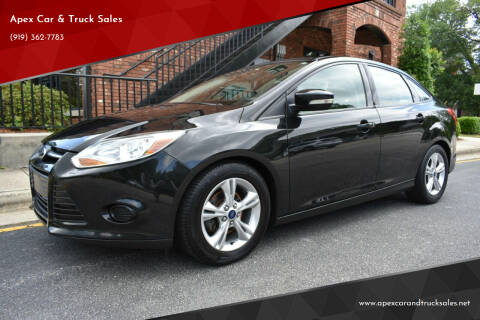 2014 Ford Focus for sale at Apex Car & Truck Sales in Apex NC