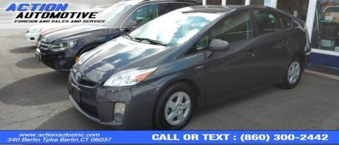 2011 Toyota Prius for sale at Action Automotive Inc in Berlin CT