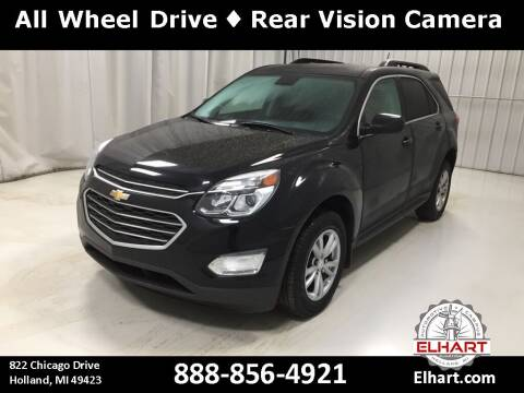 2016 Chevrolet Equinox for sale at Elhart Automotive Campus in Holland MI