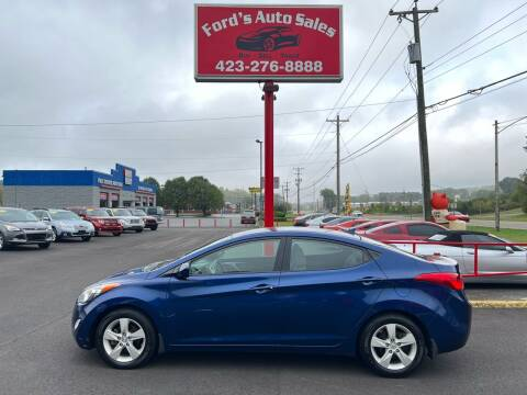 2013 Hyundai Elantra for sale at Ford's Auto Sales in Kingsport TN