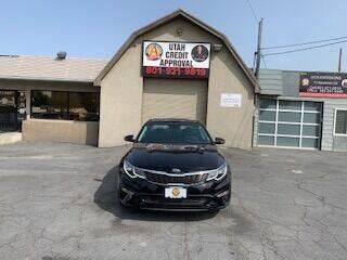 2019 Kia Optima for sale at Utah Credit Approval Auto Sales in Murray UT
