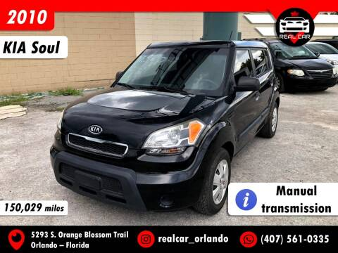 2010 Kia Soul for sale at Real Car Sales in Orlando FL