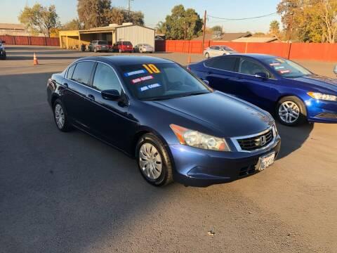 2010 Honda Accord for sale at Mega Motors Inc. in Stockton CA