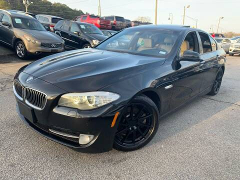 2012 BMW 5 Series for sale at Philip Motors Inc in Snellville GA