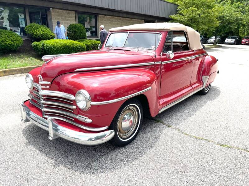 1948 Plymouth Deluxe for sale at Black Tie Classics in Stratford NJ