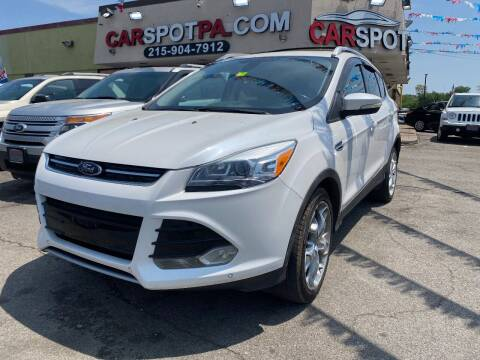 2013 Ford Escape for sale at CAR SPOT INC in Philadelphia PA