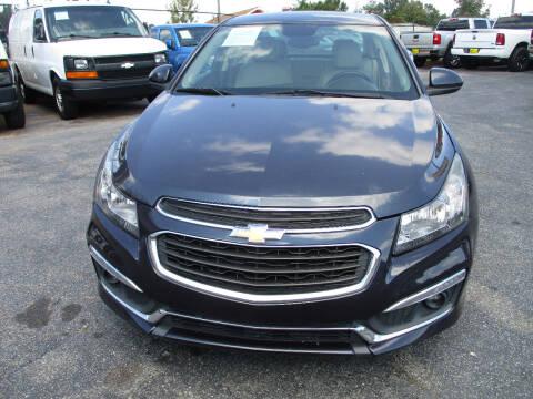 2015 Chevrolet Cruze for sale at LOS PAISANOS AUTO & TRUCK SALES LLC in Doraville GA