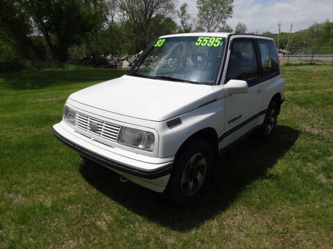 1993 GEO Tracker for sale at John's Auto Sales in Council Bluffs IA