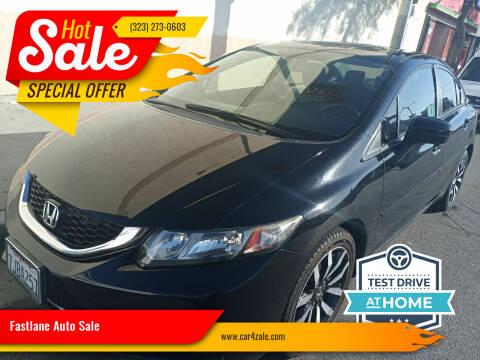 2014 Honda Civic for sale at Fastlane Auto Sale in Los Angeles CA