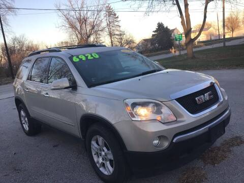 2008 GMC Acadia for sale at Bam Motors in Dallas Center IA